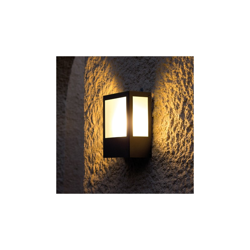 Aplique pared exterior aplique de pared exterior kamal for Apliques de pared exterior led